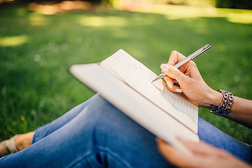 journal your ideas for business success