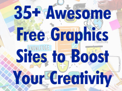 35+ Awesome Free Graphics Sites to Boost Your Creativity