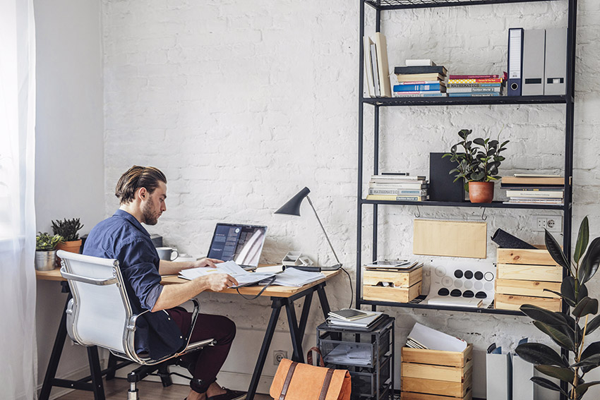 setting up a successful home office